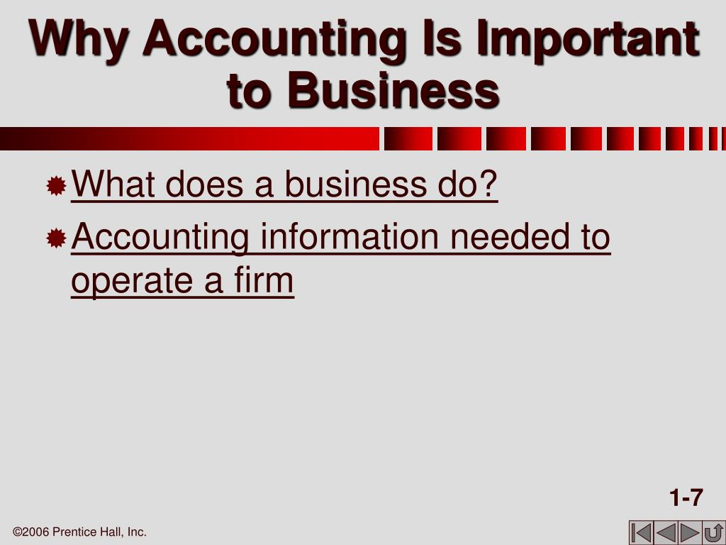 Why Accounting Is Important to Business
