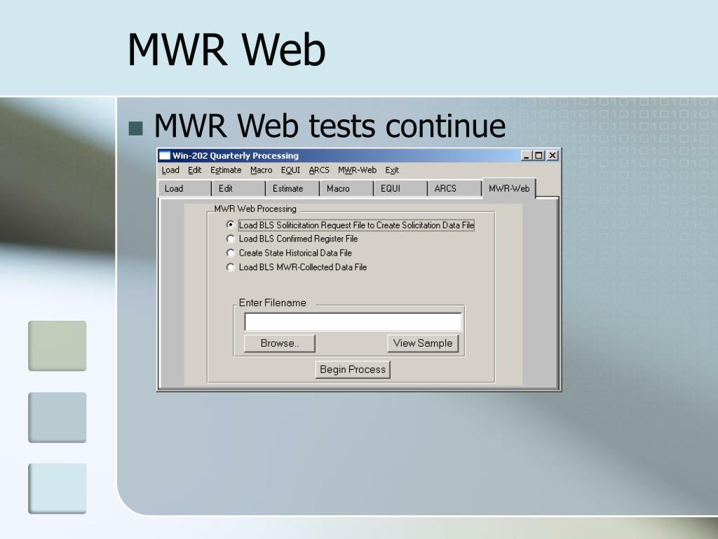 MWR Web