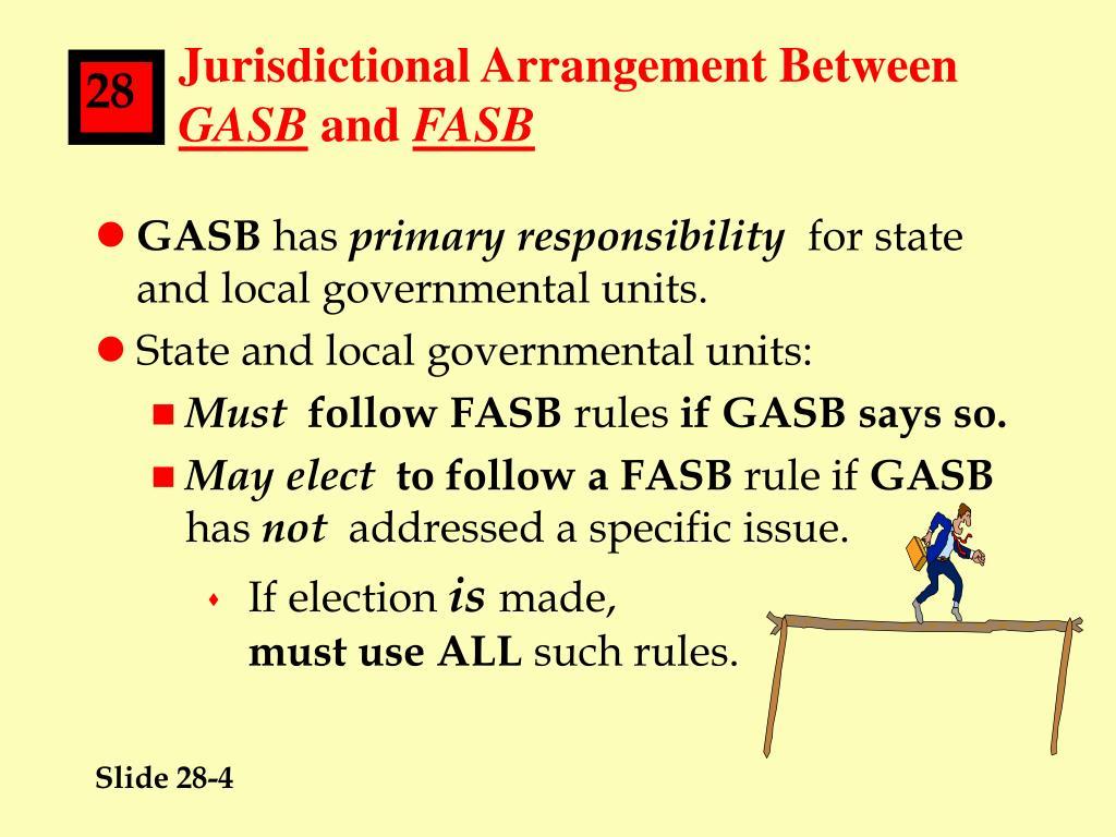 Jurisdictional Arrangement Between