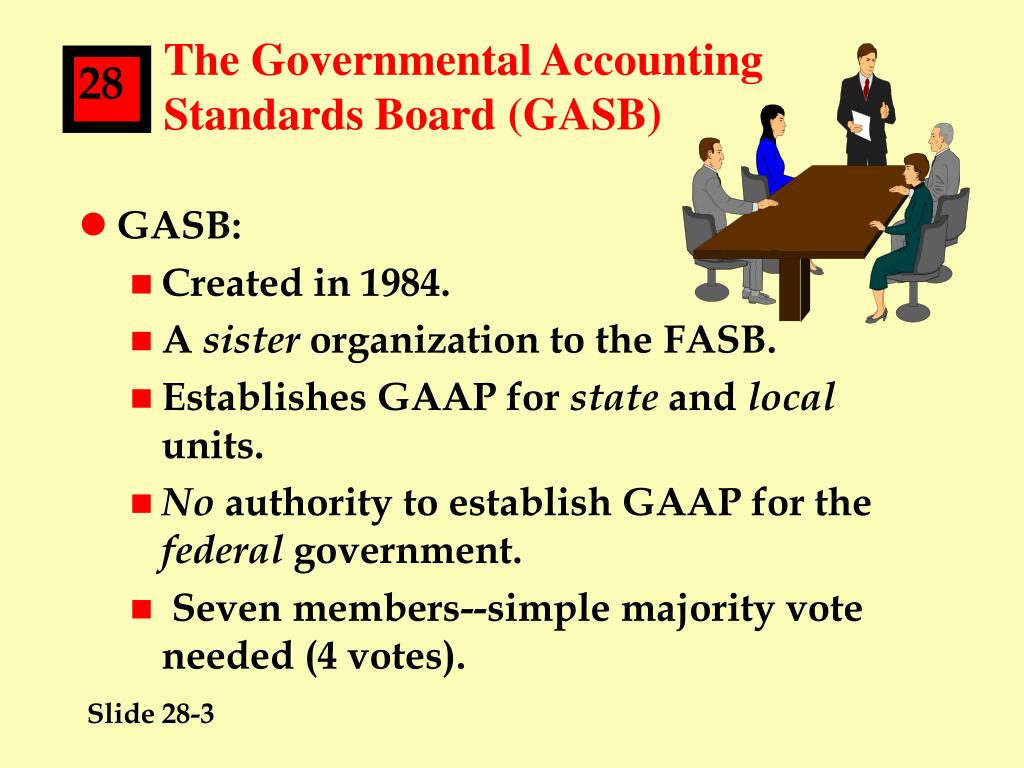 The Governmental Accounting Standards Board (GASB)