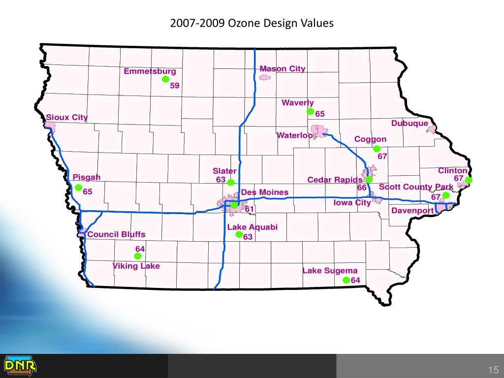 2007-2009 Ozone Design Values