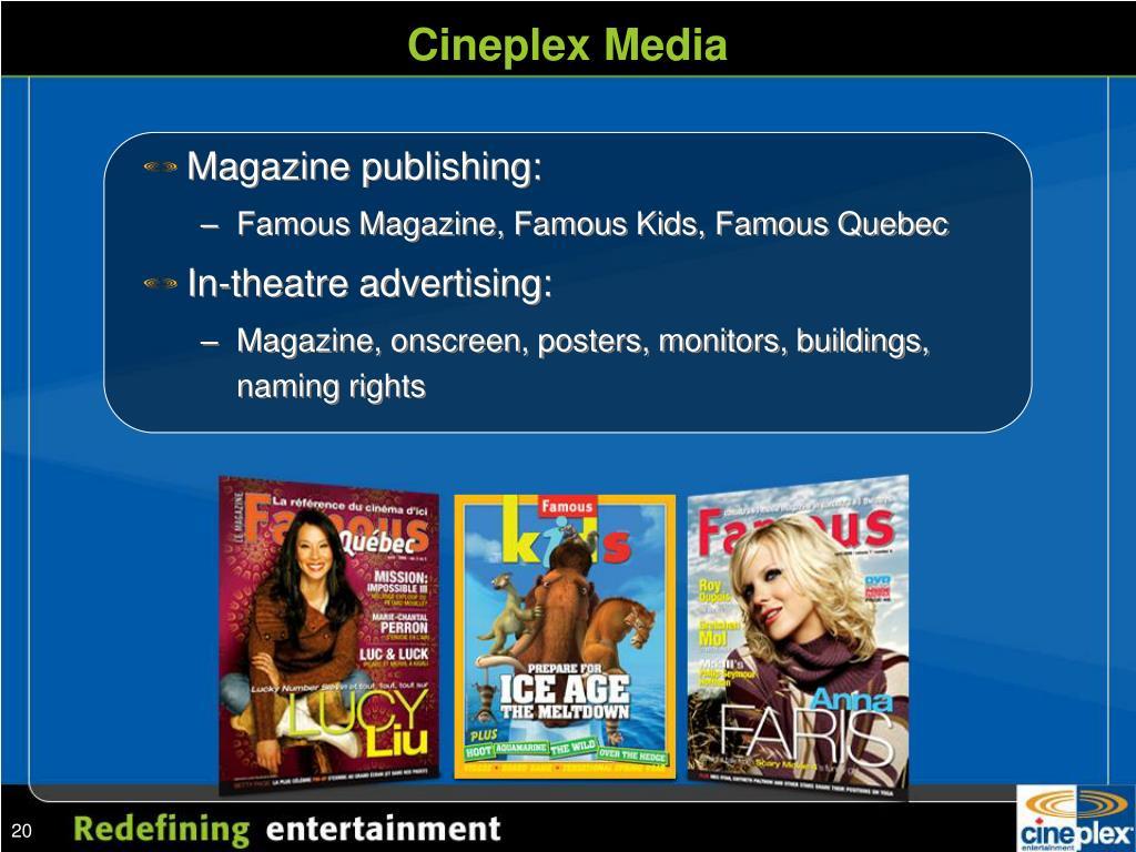 Cineplex Media