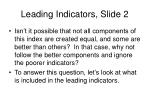 leading indicators slide 2