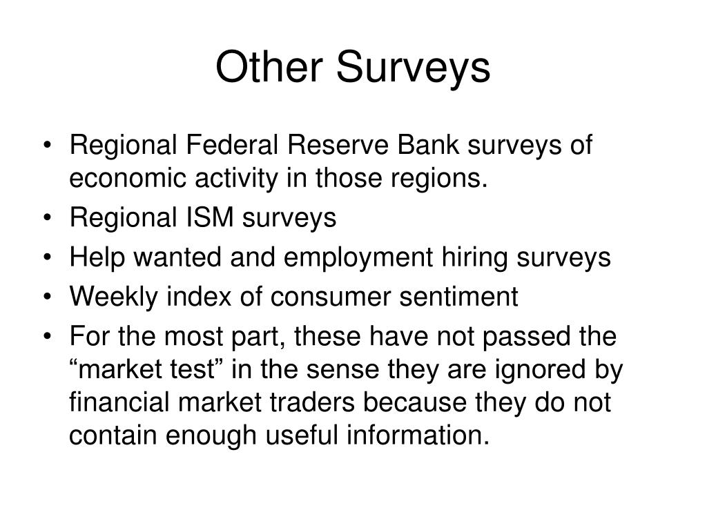 Other Surveys