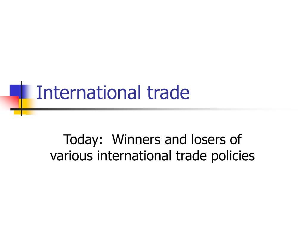 international trade l.