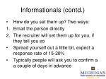 informationals contd11