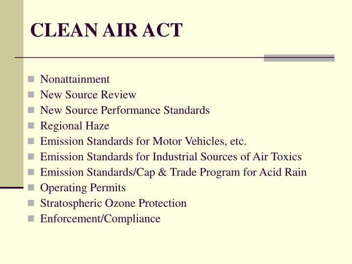 Clean air act3