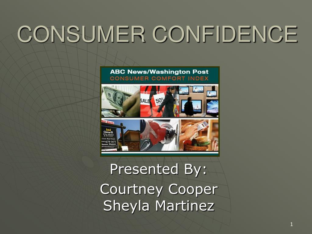 consumer confidence l.