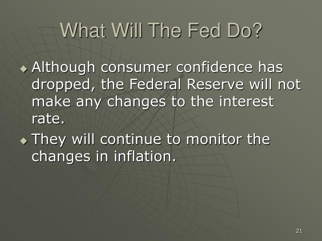 What Will The Fed Do?