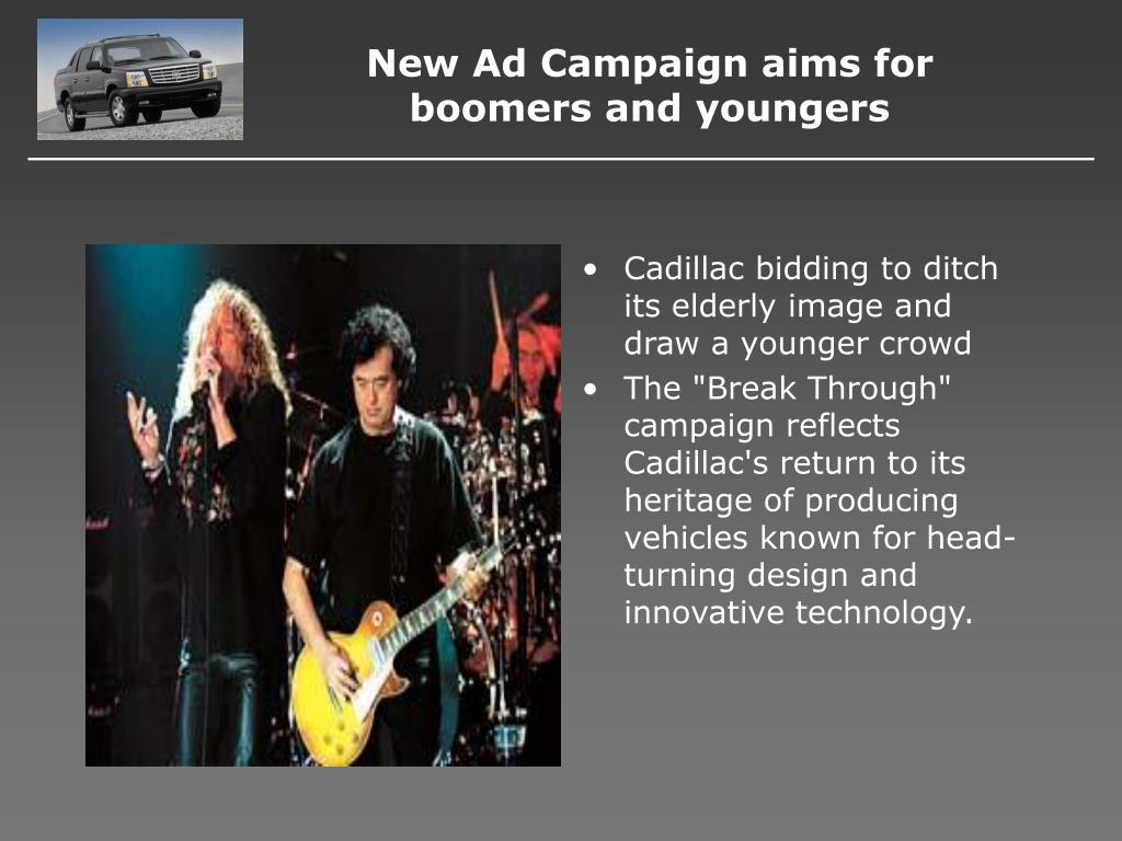 New Ad Campaign aims for boomers and youngers
