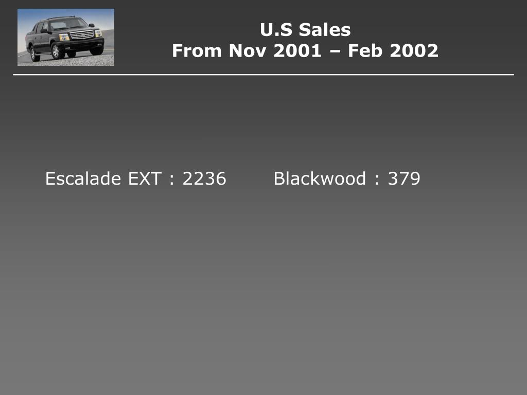 Escalade EXT : 2236