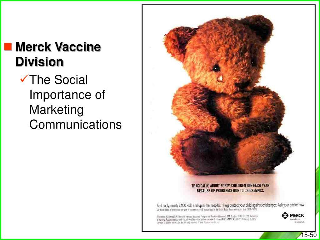 Merck Vaccine Division