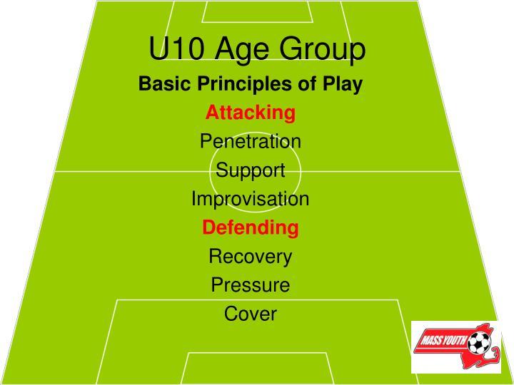 U10 age group