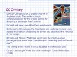 xx century