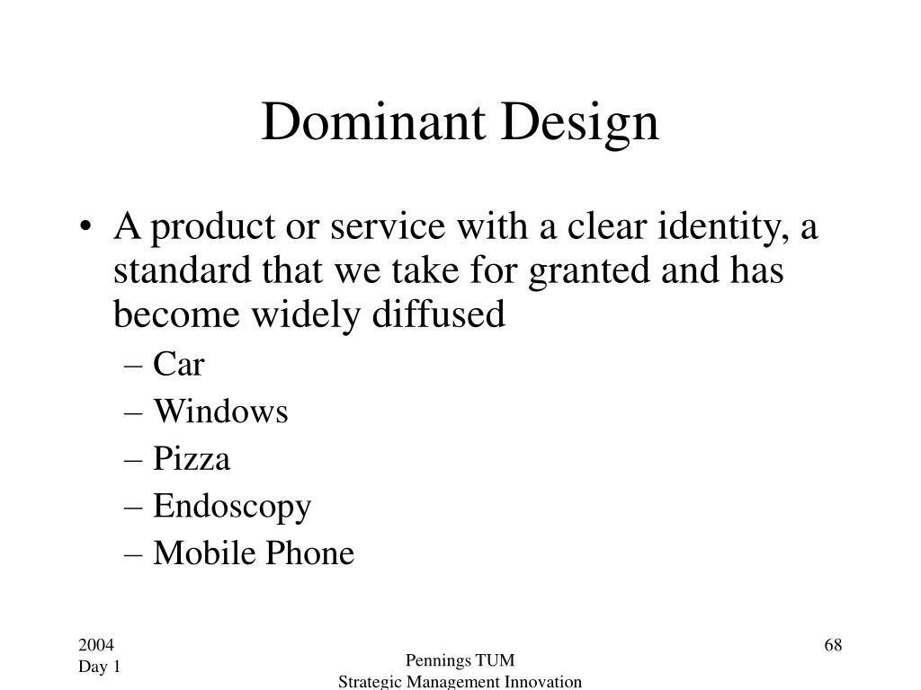 Dominant Design