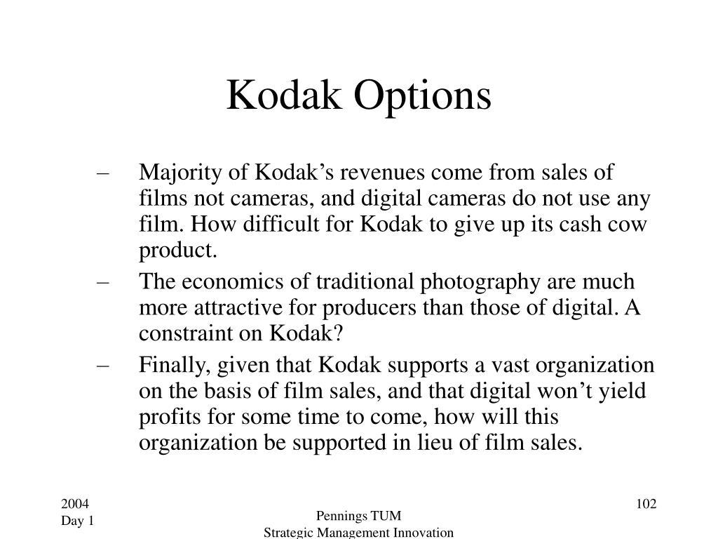 Kodak Options
