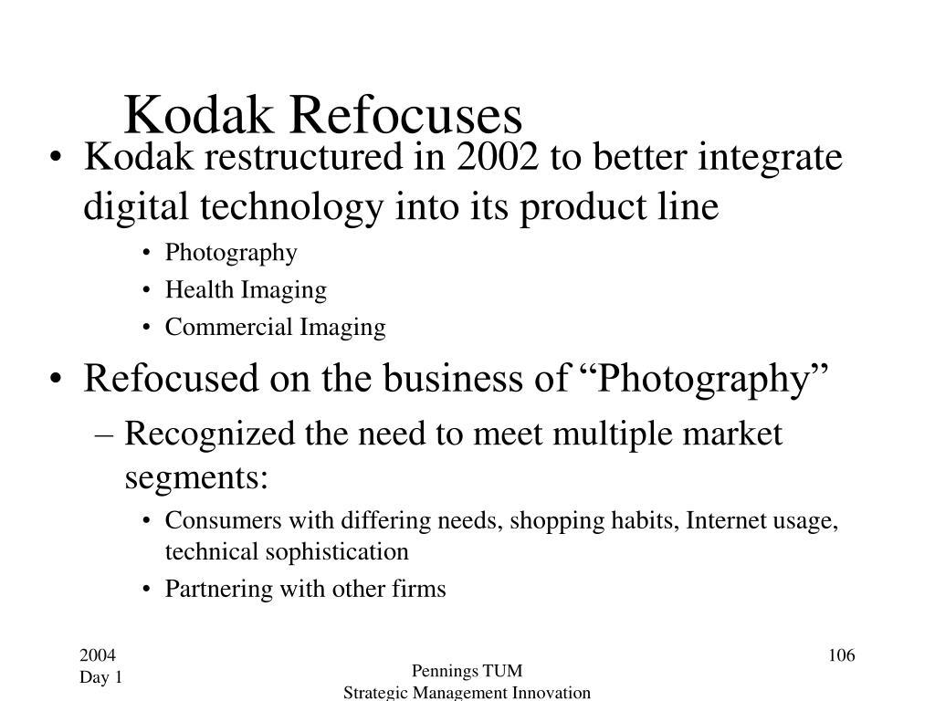 Kodak Refocuses