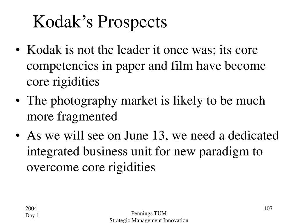 Kodak's Prospects