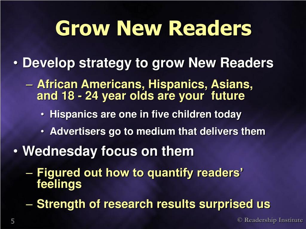 Grow New Readers