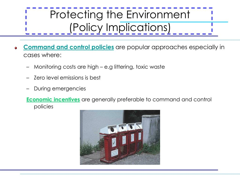Protecting the Environment