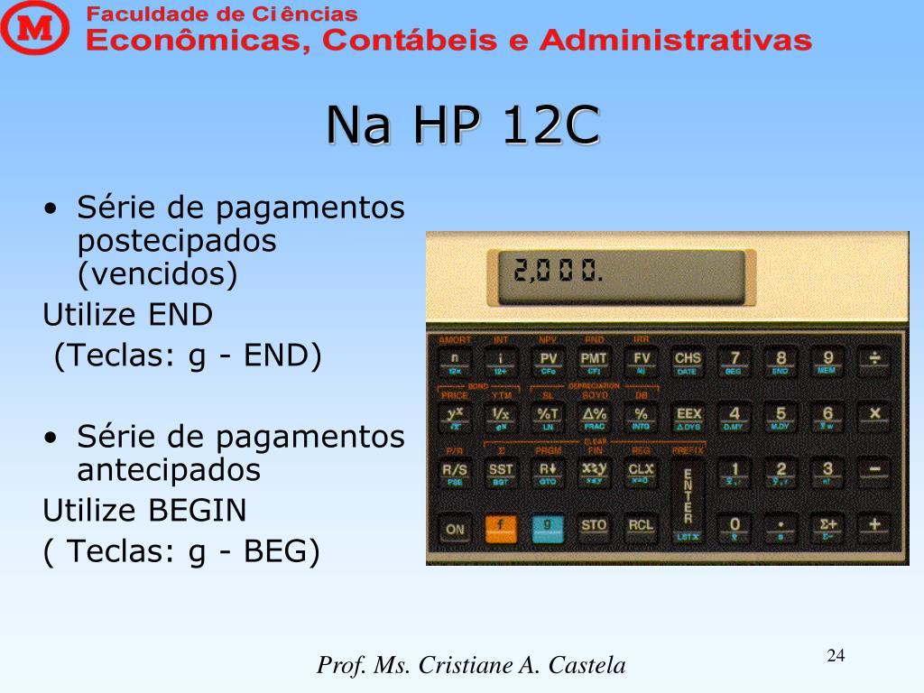 Na HP 12C