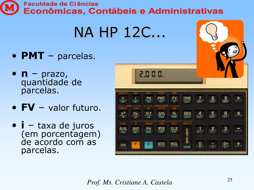 NA HP 12C...