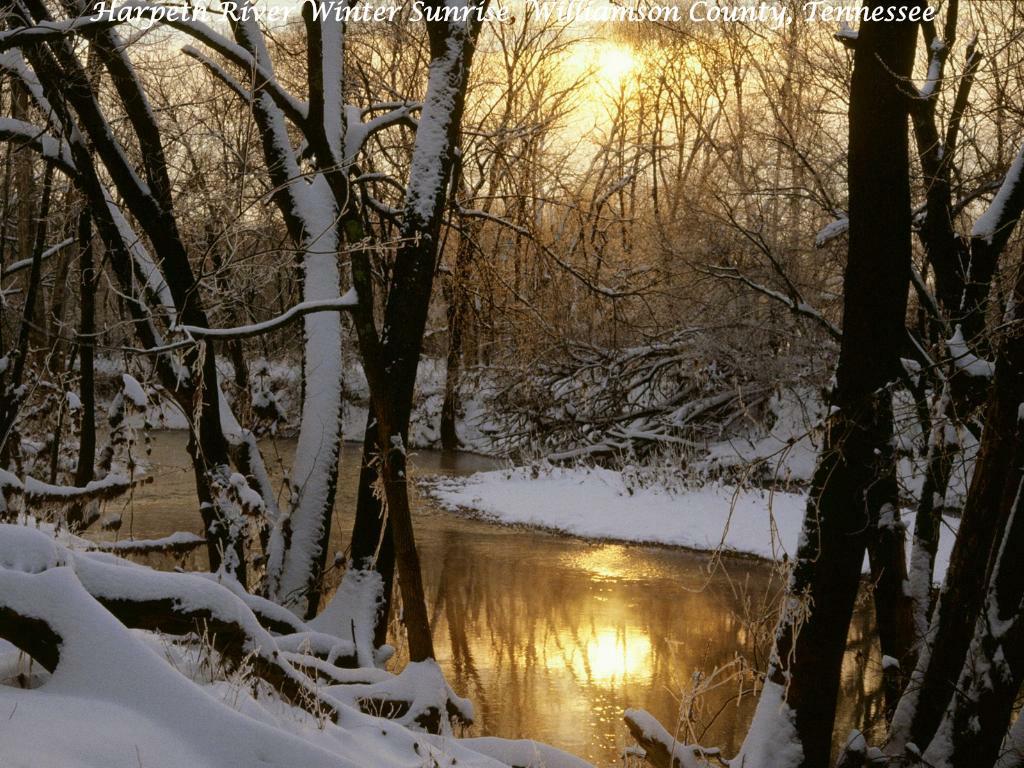 Harpeth River Winter Sunrise