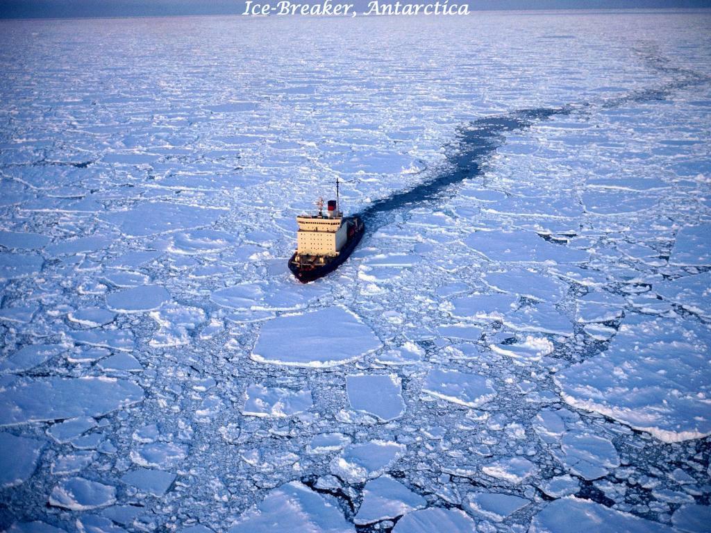 Ice-Breaker, Antarctica