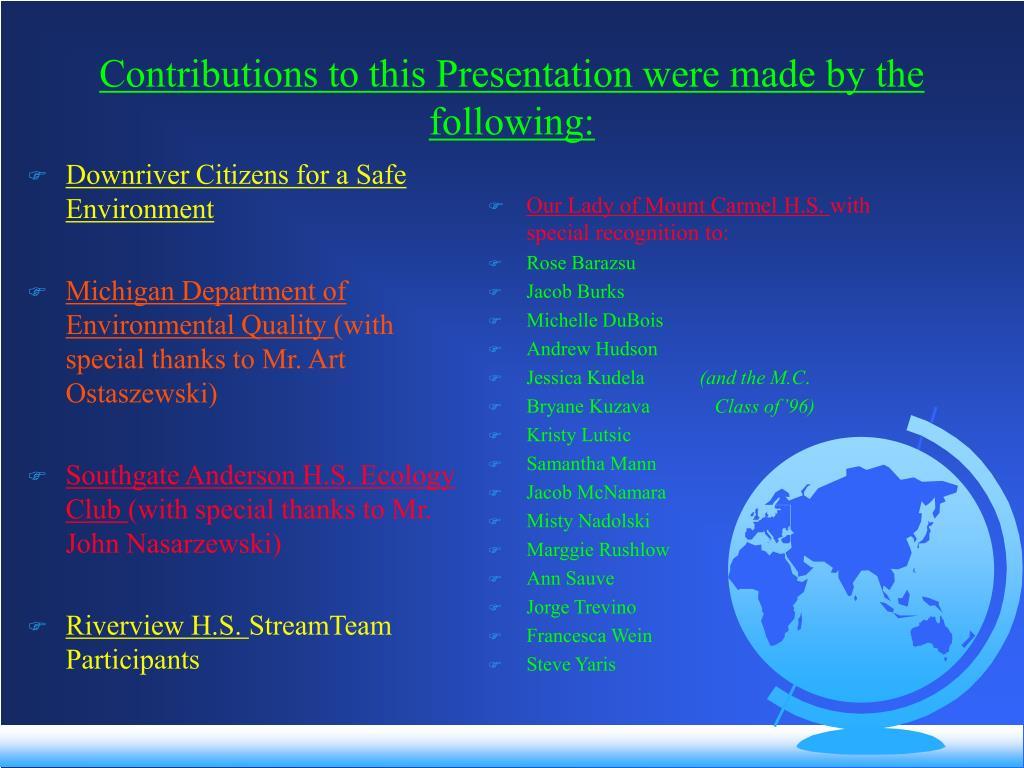 Downriver Citizens for a Safe Environment