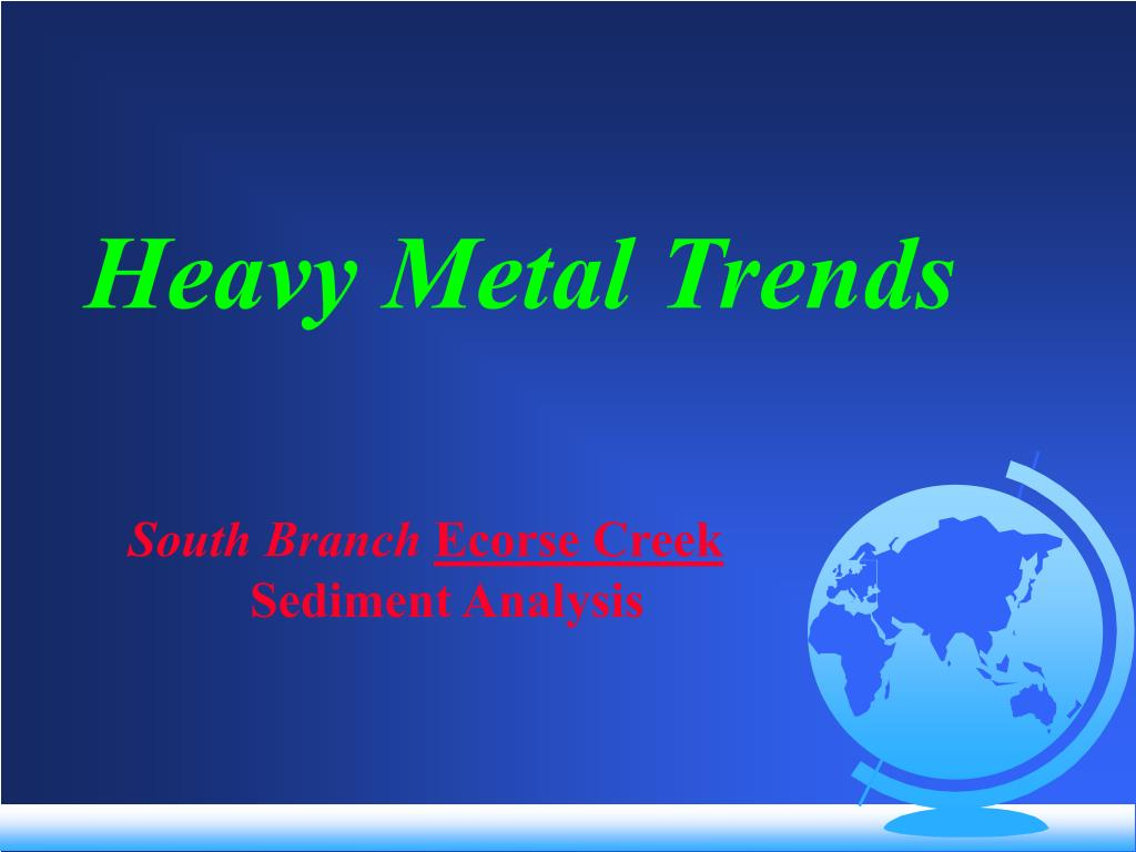 Heavy Metal Trends
