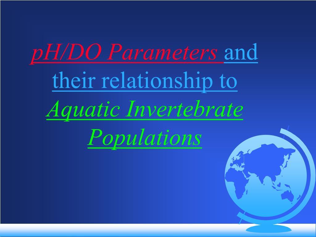 pH/DO Parameters