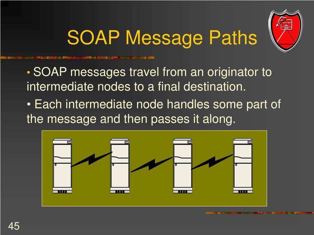 SOAP Message Paths