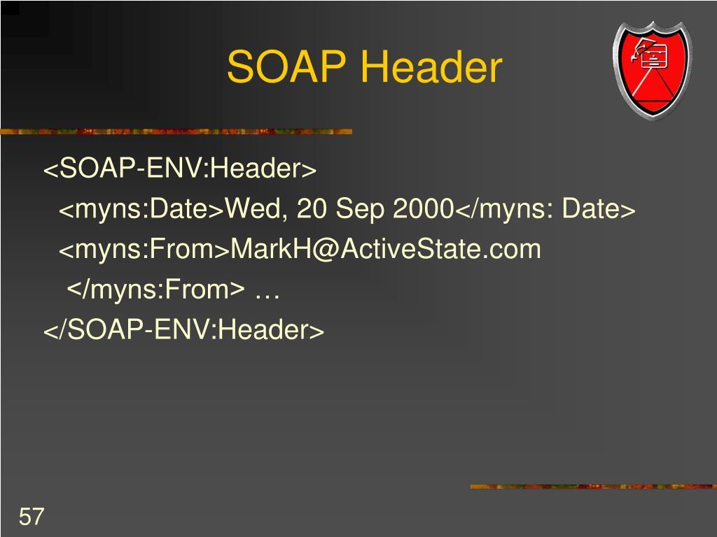 SOAP Header