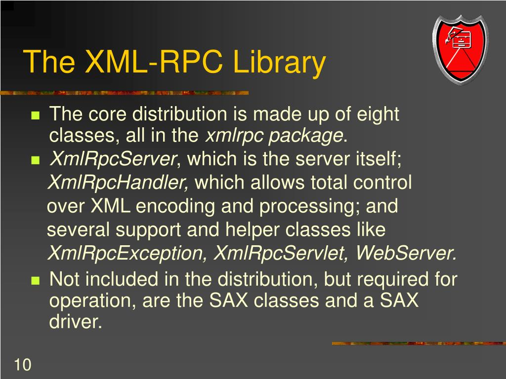 The XML-RPC Library