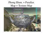 phong illum parallax map texture map