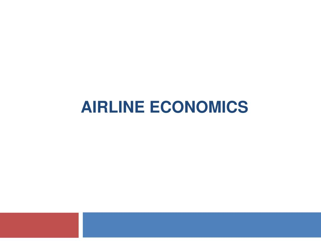 airline economics l.
