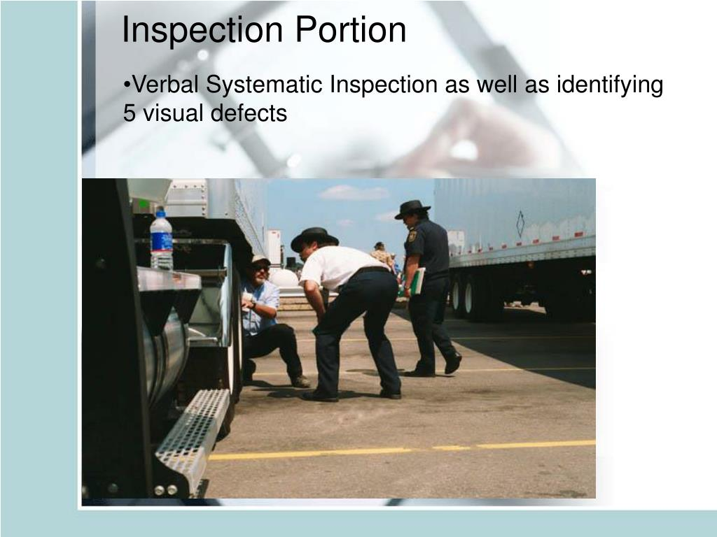Inspection Portion