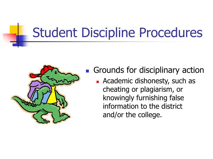 Student Discipline Procedures