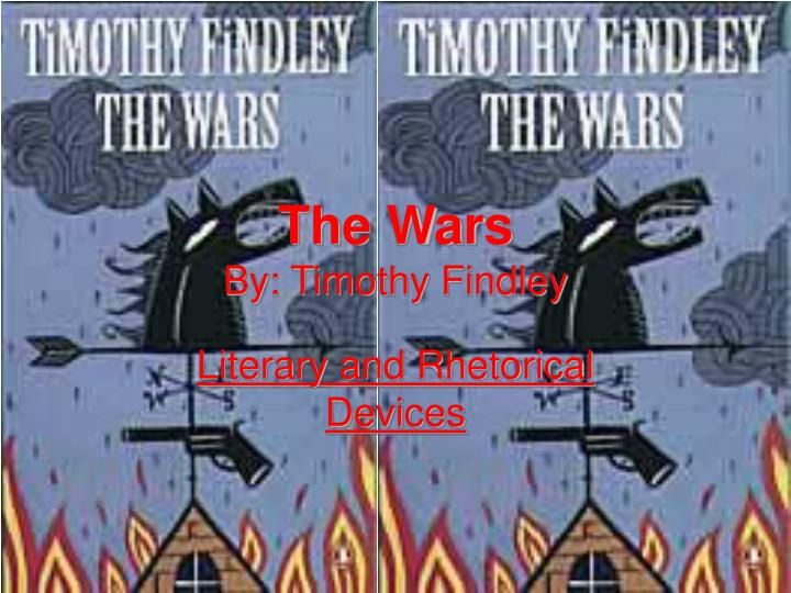 Ppt The Wars By Timothy Findley Powerpoint Presentation Id754916