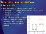 detecci n de una colisi n o intersecci n14