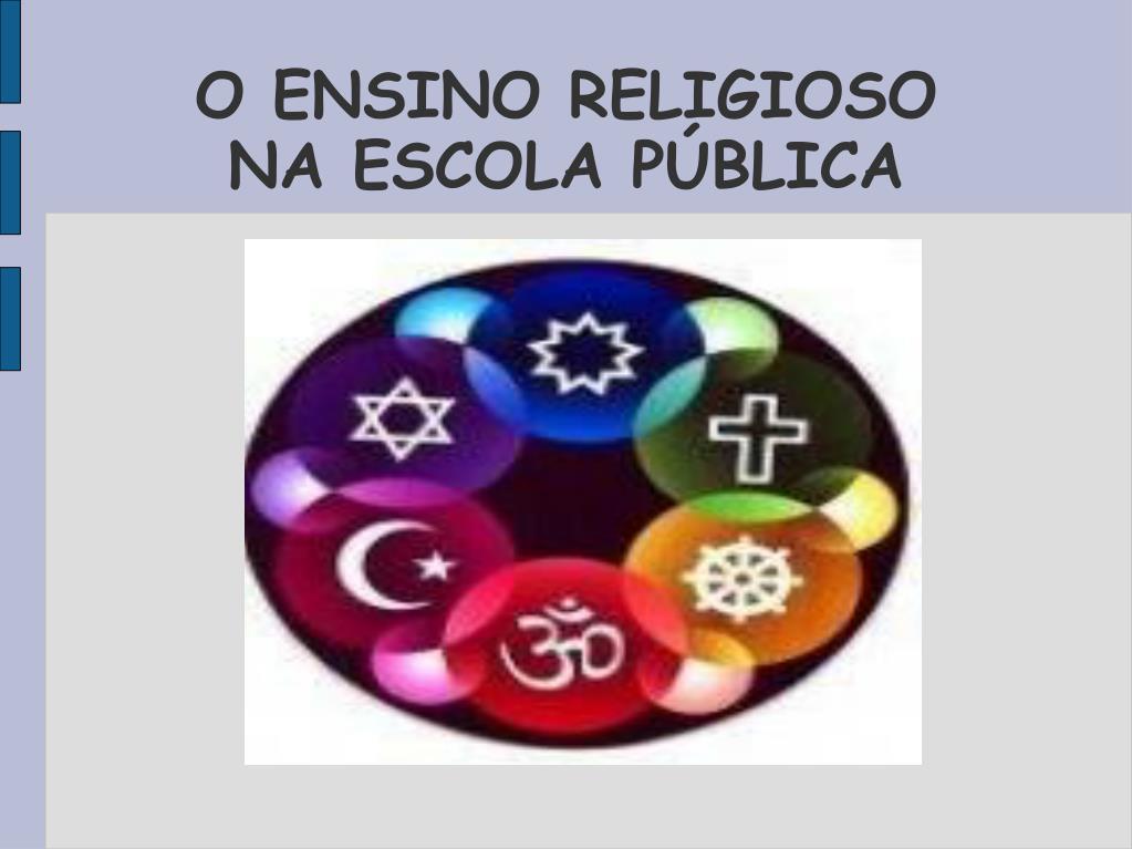 O ENSINO RELIGIOSO