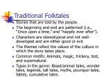 traditional folktales