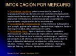 intoxicaci n por mercurio76