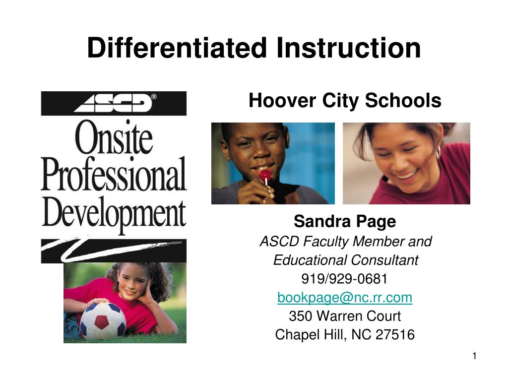 Ppt Differentiated Instruction Powerpoint Presentation Id755207