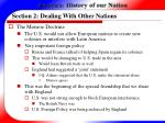 section 2 dealing with other nations11