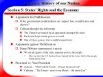 section 5 states rights and the economy26