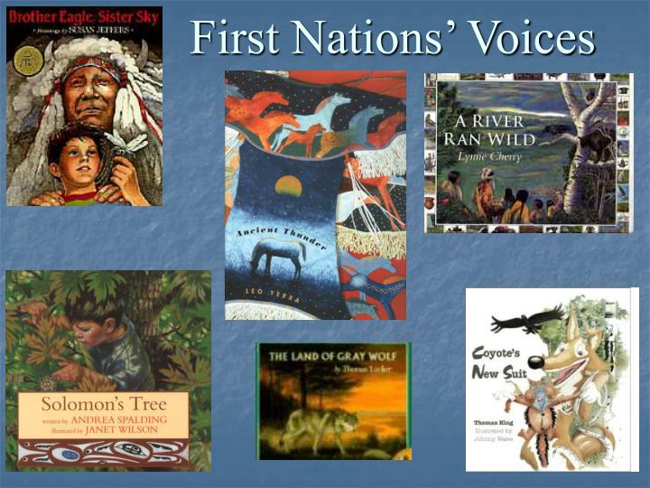 First Nations' Voices