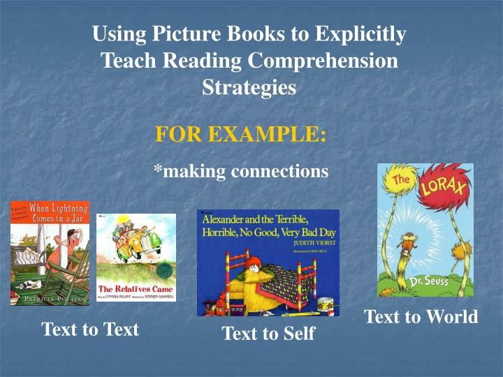 Using Picture Books to Explicitly
