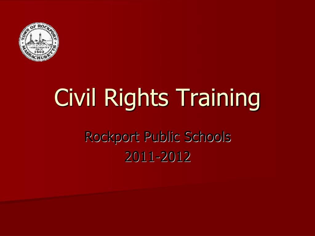 Civil Rights Training