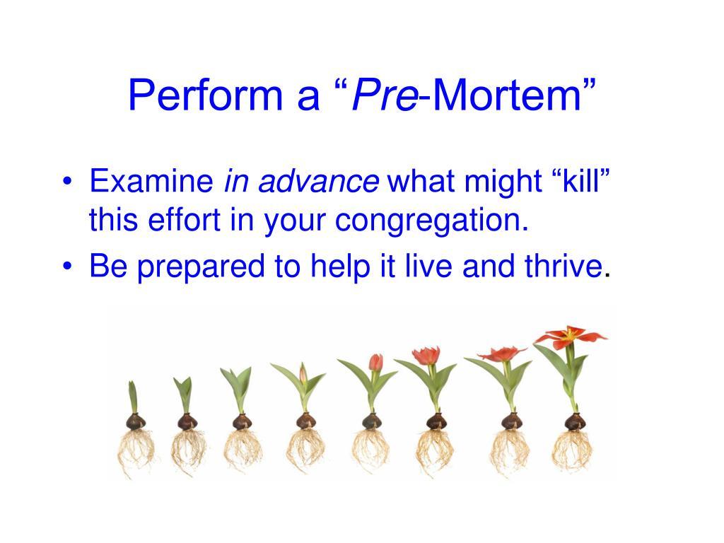 "Perform a """